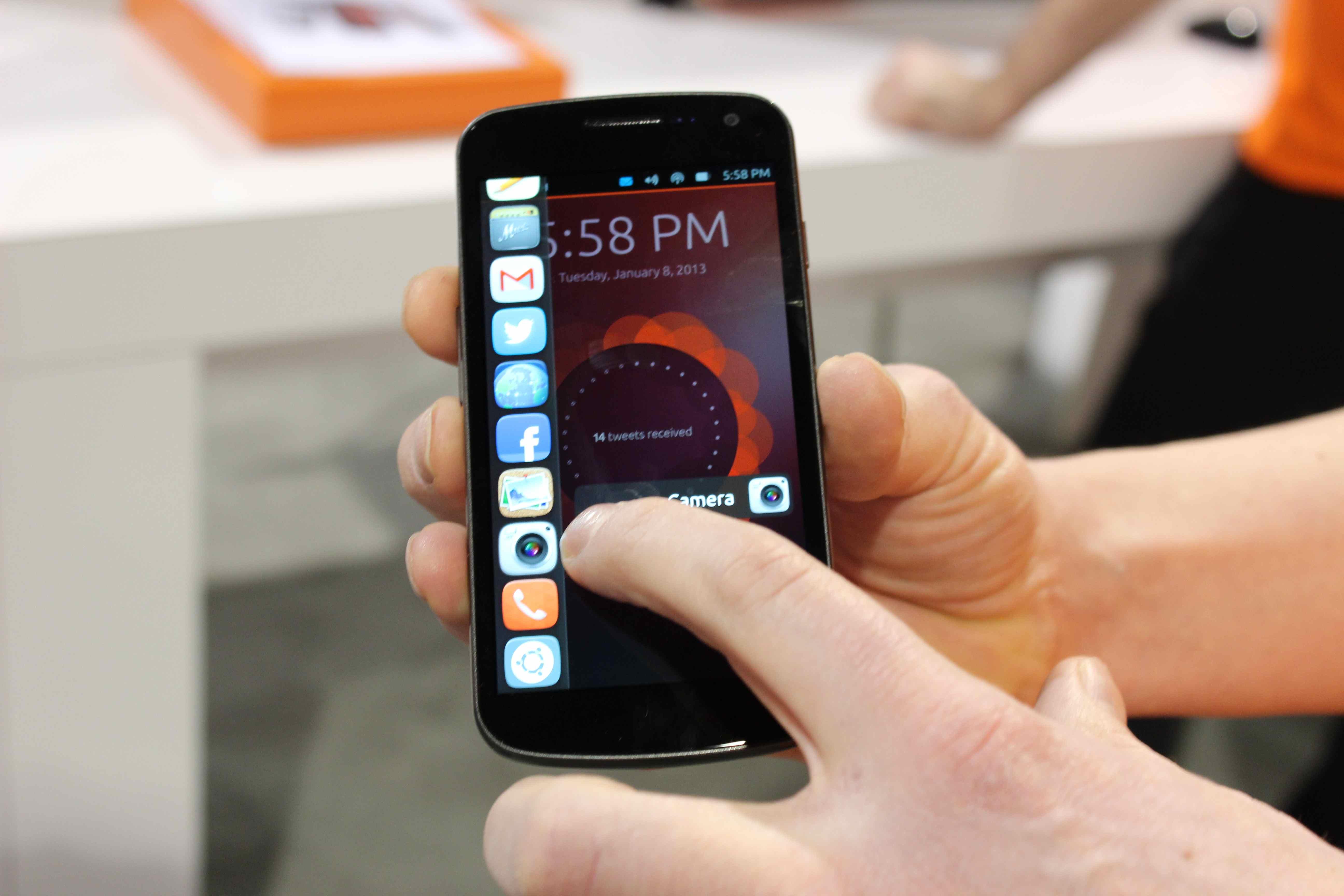ubuntu-telefonon